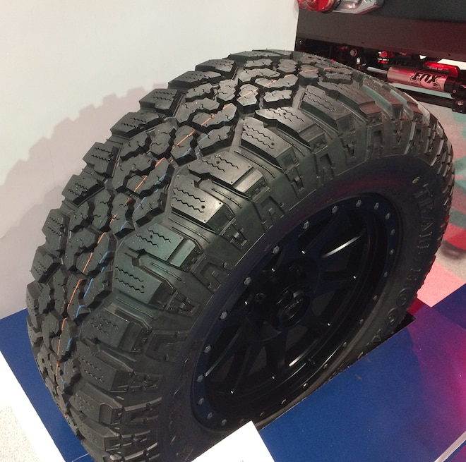 09 12 Crazy Tire Treads From The 2015 SEMA Show