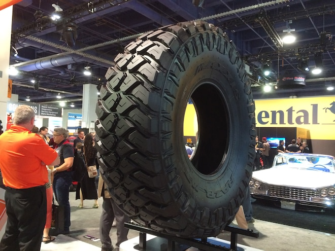 07 12 Crazy Tire Treads From The 2015 SEMA Show