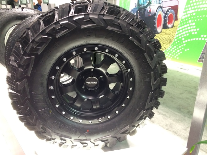 25 12 Crazy Tire Treads From The 2015 SEMA Show