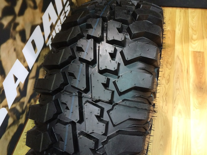 22 12 Crazy Tire Treads From The 2015 SEMA Show