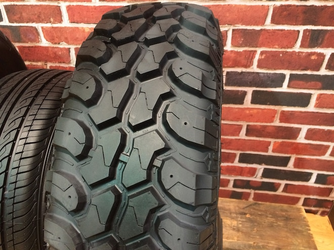 19 12 Crazy Tire Treads From The 2015 SEMA Show