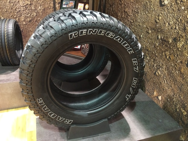 17 12 Crazy Tire Treads From The 2015 SEMA Show
