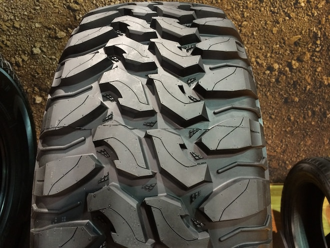 16 12 Crazy Tire Treads From The 2015 SEMA Show