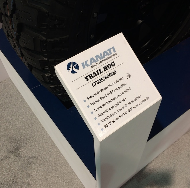 10 12 Crazy Tire Treads From The 2015 SEMA Show