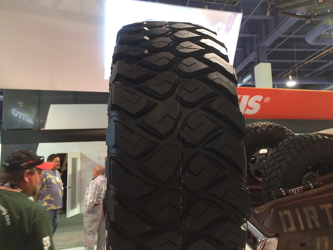 08 12 Crazy Tire Treads From The 2015 SEMA Show