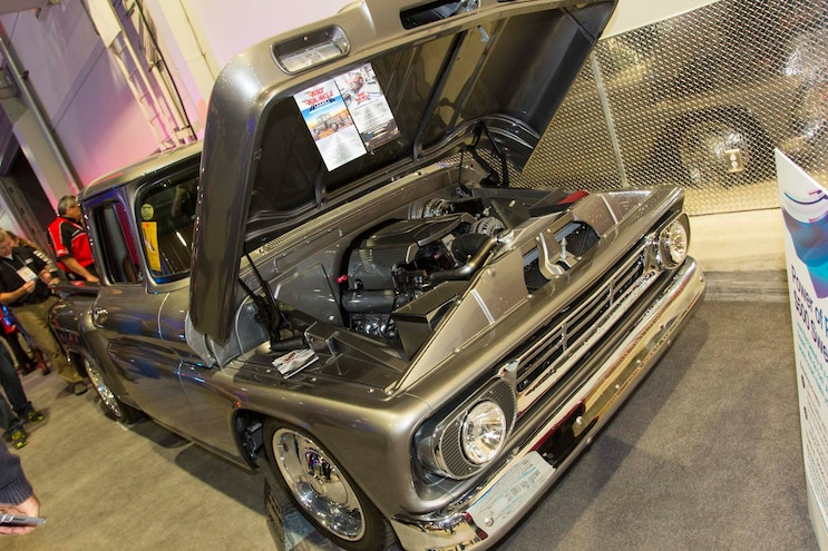 009 2015 Sema Show Chevrolet C10 Supercharged