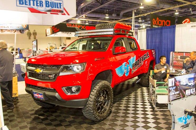 005 2015 Sema Show Chevrolet Colorado Supercharged