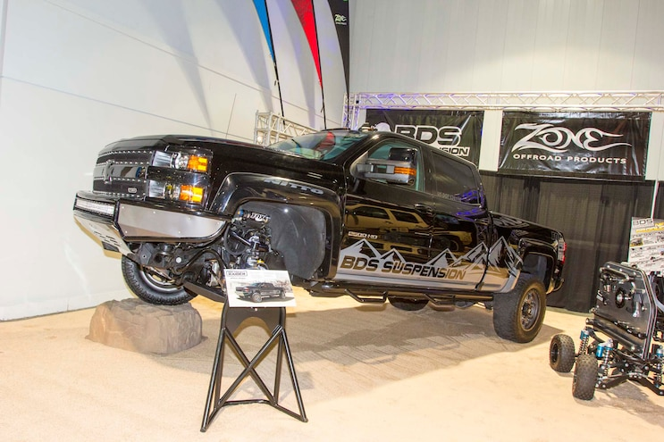 Top Chevy Trucks of the 2015 SEMA Show