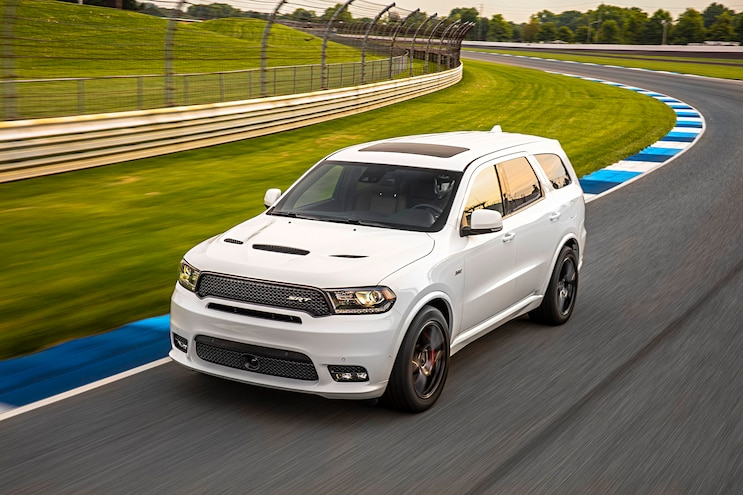 2018 Dodge Durango Srt First Drive On Track