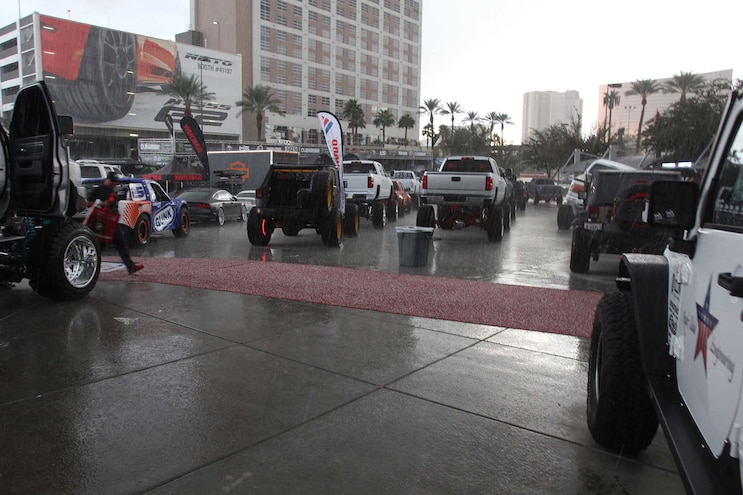 Extreme Weather Rocks The 2015 SEMA Show