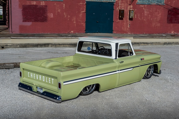 1965 Chevrolet C10 Boosted Bertha Rear