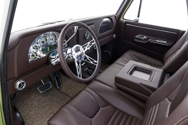 1965 Chevrolet C10 Boosted Bertha Interior