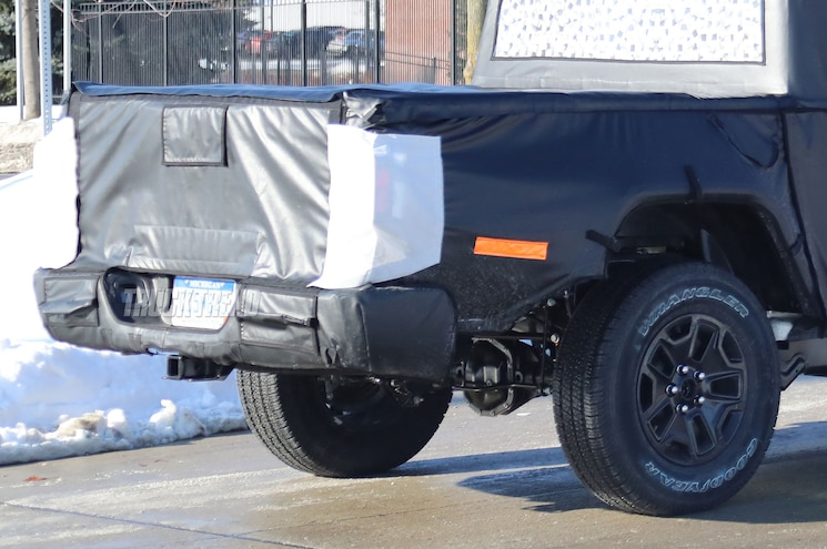 2019 Jeep Wrangler Scrambler Rear End 02