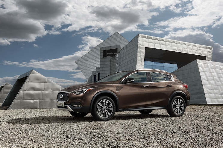 Infiniti Prices Out 2017 QX30 Subcompact Crossover