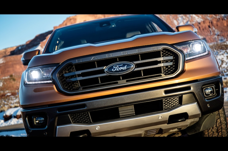 2019 Ford Ranger Lariat Fx4 Exterior Front View