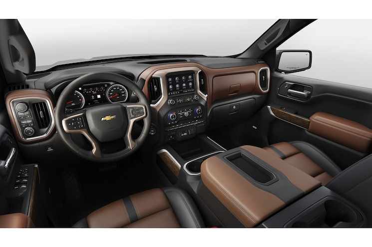 2019 Chevrolet Silverado 1500 Interior Dashboard