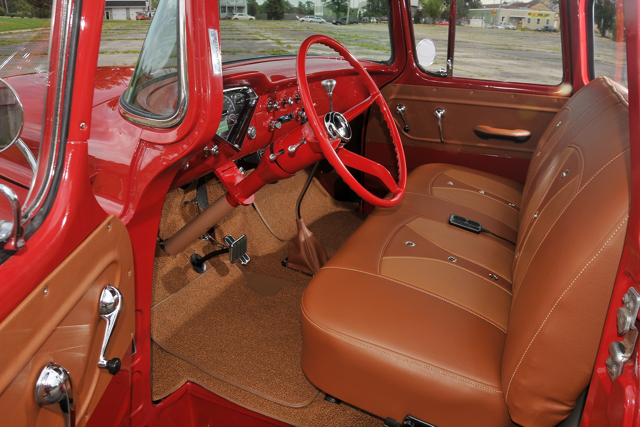 1955 Chevy 3100 Big Red