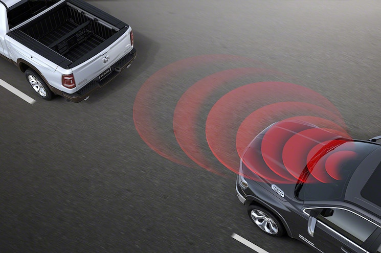 2019 Ram 1500 Active Safety Forward Collision Monitoring