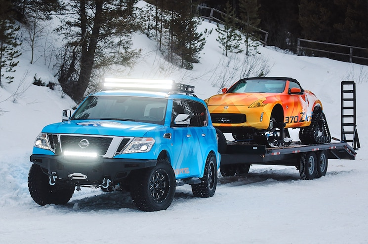 Nissan Debuts 2018 Snow Vehicles for Chicago Auto Show