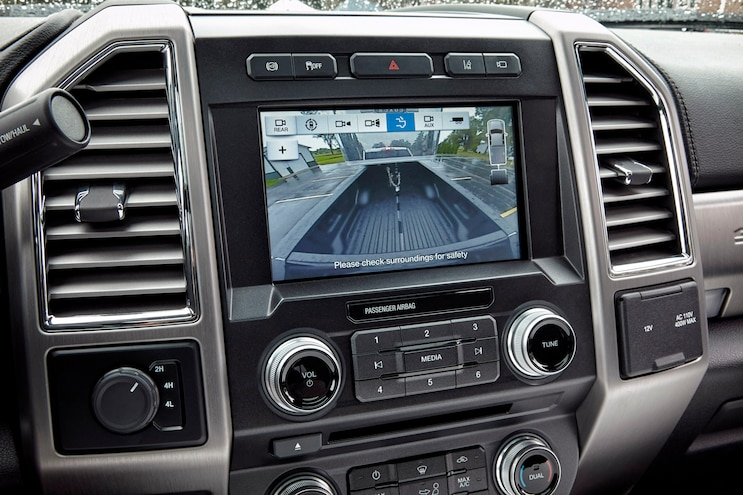 013 2017 Ford Super Duty Infotainment Center
