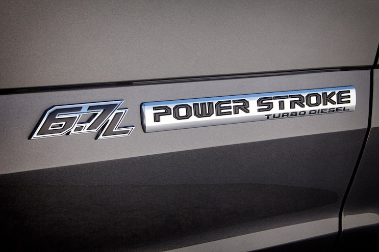 014 2017 Ford Super Duty Power  Stroke Badge