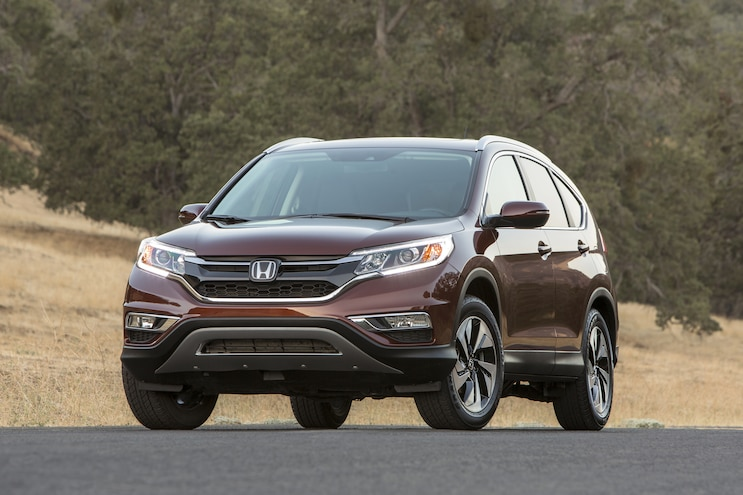 2016 Honda CR V Front Three Quarters