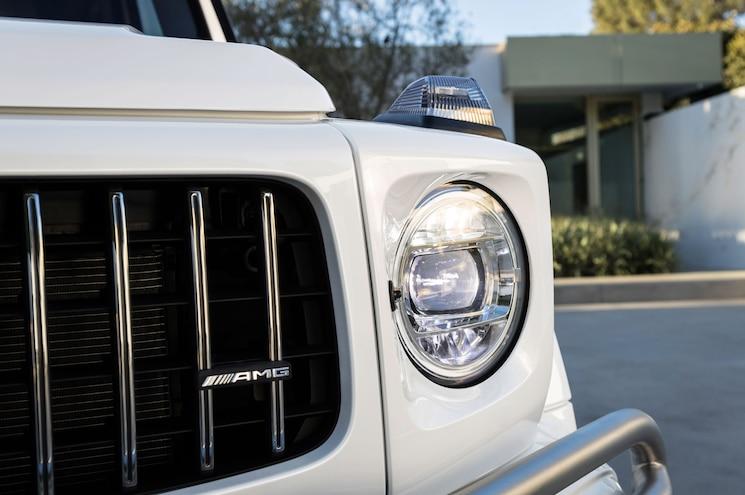 2019 Mercedes Amg G63 Exterior Front Lighting
