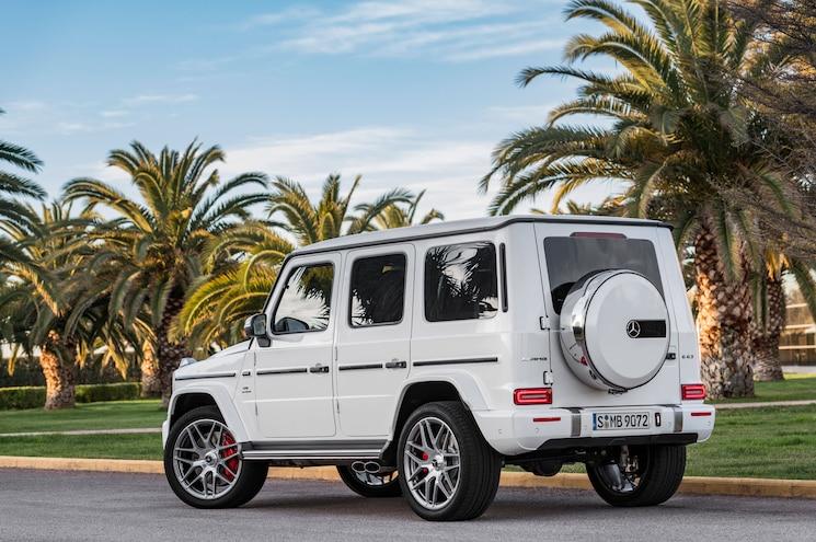 2019 Mercedes Amg G63 Exterior Rear Quarter 01