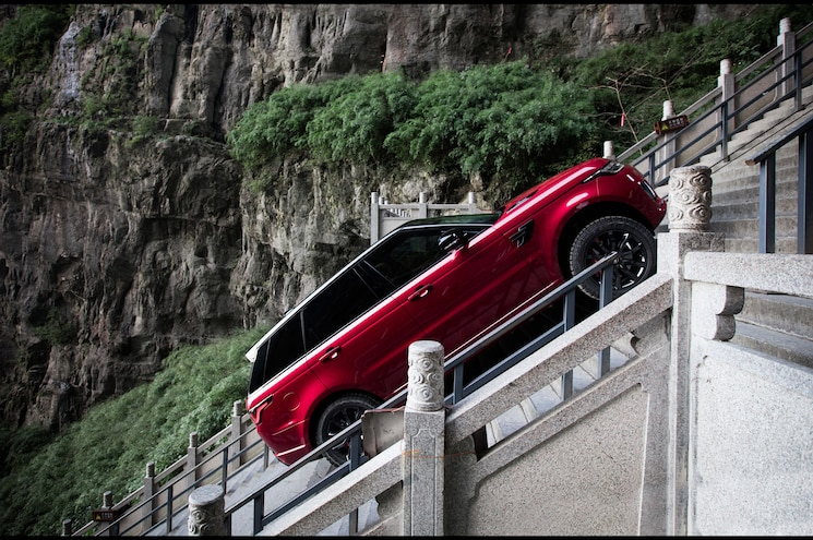 VIDEO: Range Rover Sport PHEV Is First SUV To Climb Heaven's Gate