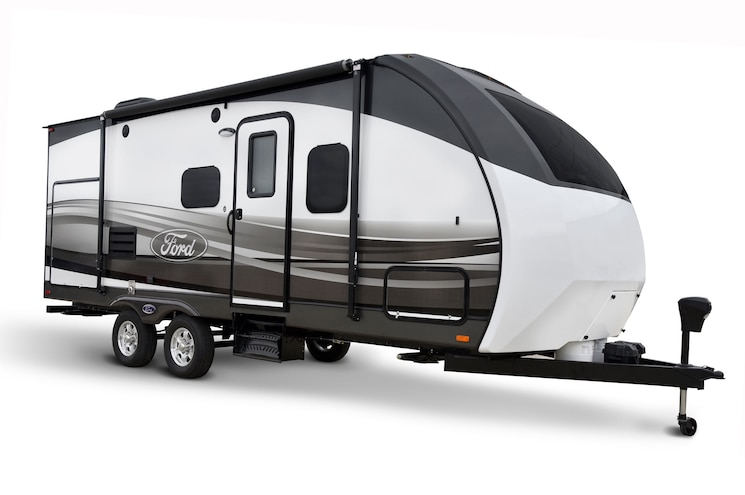 Ford Travel Trailer Right Side
