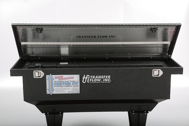 045 Transfer Flow 70 Gallon Fuel Tank Tool Box Combination SEMA