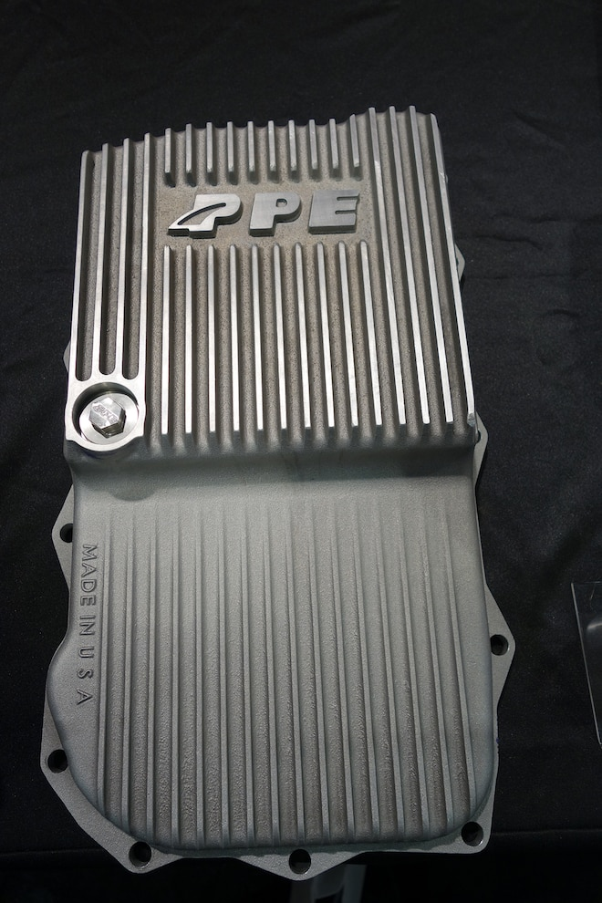 036 PPE EcoDiesel Heavy Duty Transmission Pan SEMA
