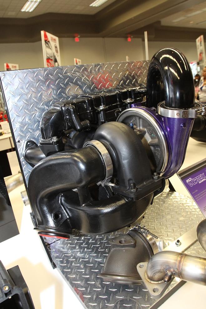 022 ATS Diesel Performance 6 7L Cummins Vortex Manifold SEMA