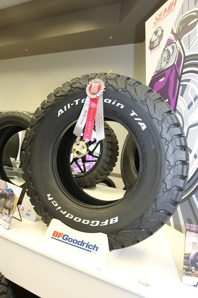 004 BFGoodrich All Terrain KO2 Tire SEMA Winner
