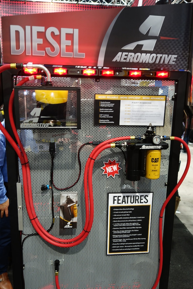 002 Aeromotive Diesel Lift Pump SEMA Winner