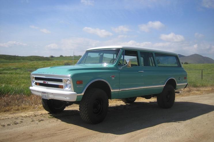 005 1968 Chevrolet Suburban K20 Driver Side