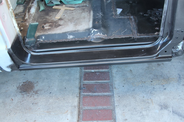 32 1969 Chevroler C 10  Rust Repair