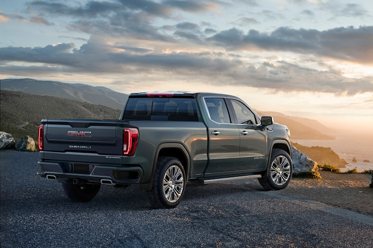 2019 Gmc Sierra 1500 Exterior Rear Quarter 01