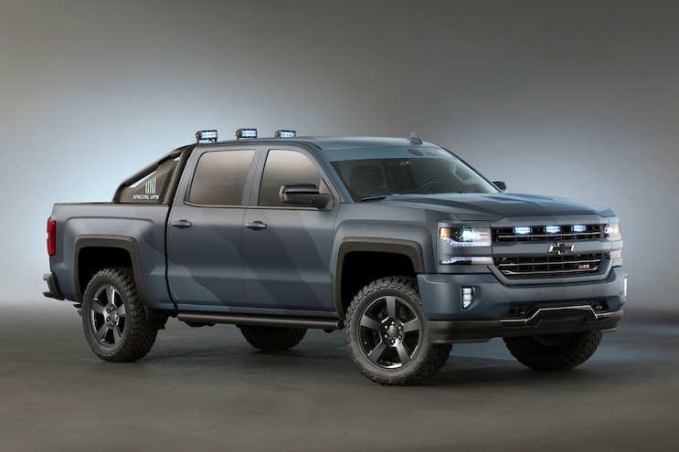 2016 Chevrolet Silverado Special Operations Edition Production Announced