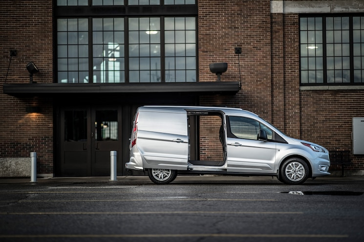 2019 Ford Transit Connect Cargo Van Exterior Side Profile