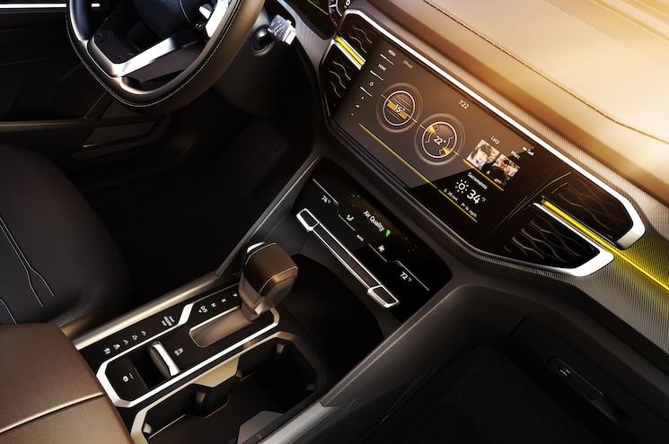 2018 Nyias Volkswagen Atlas Tanoak Concept Interior Center Stack