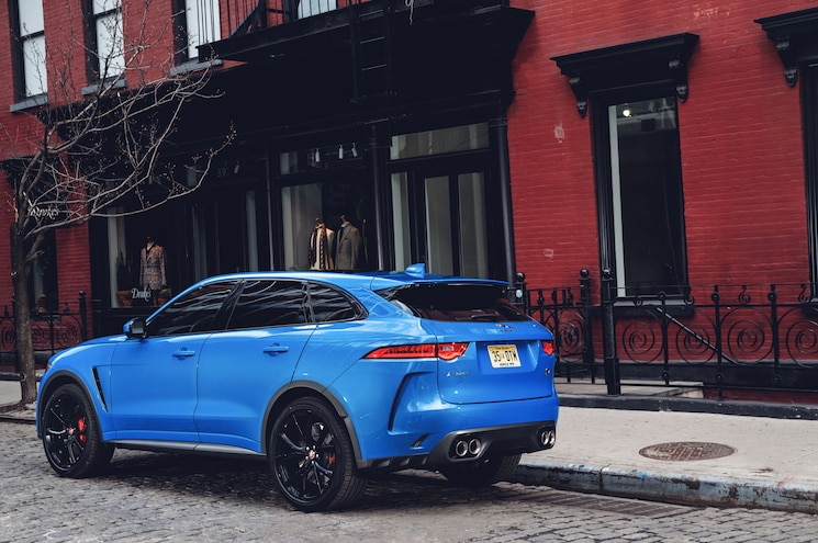 2019 Jaguar F Pace Svr 19MY New York 280318 010