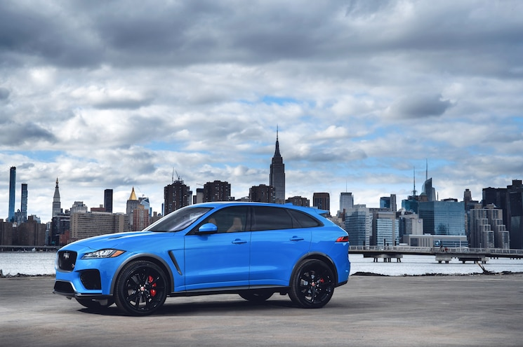 2019 Jaguar F Pace Svr 19MY New York 280318 013