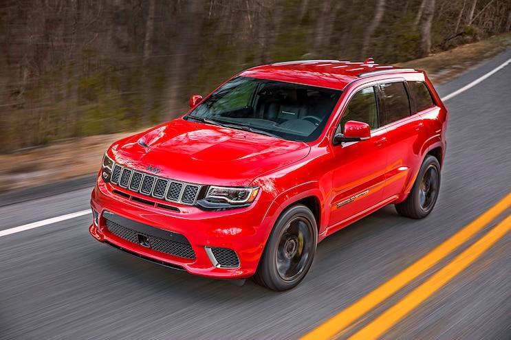 First Drive: 2018 Jeep Grand Cherokee Trackhawk
