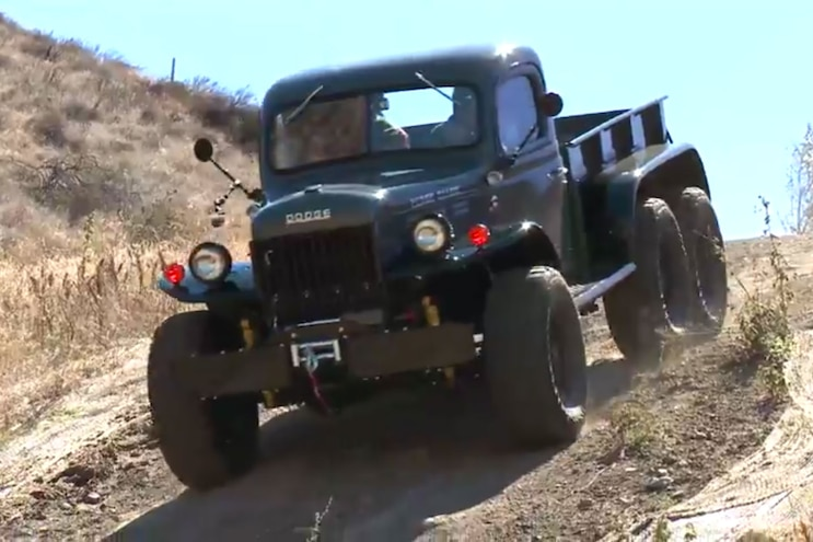 Legacy 1942 Dodge Power Wagon 6x6 Visits Jay Leno's Garage
