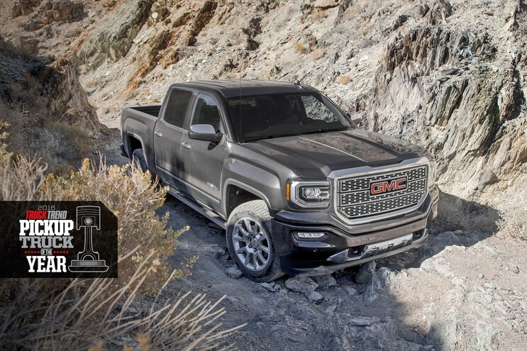 The Handoff: Giving Our Pickup Truck of the Year Award to the GMC Sierra Denali