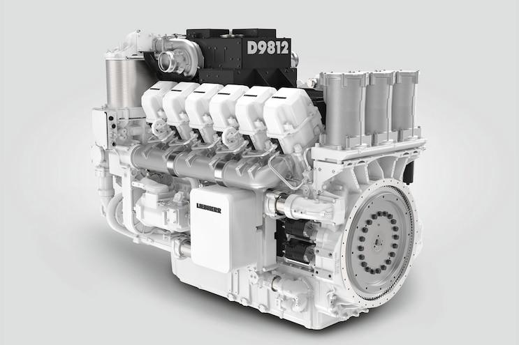 Liebherr D9812; Twelve-Cylinders of Mining Might