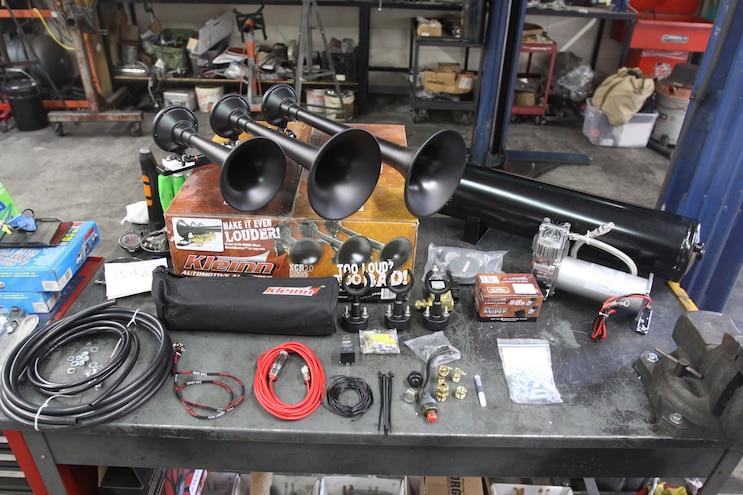 003 Kleinn Air Horns HK9 Slimeline