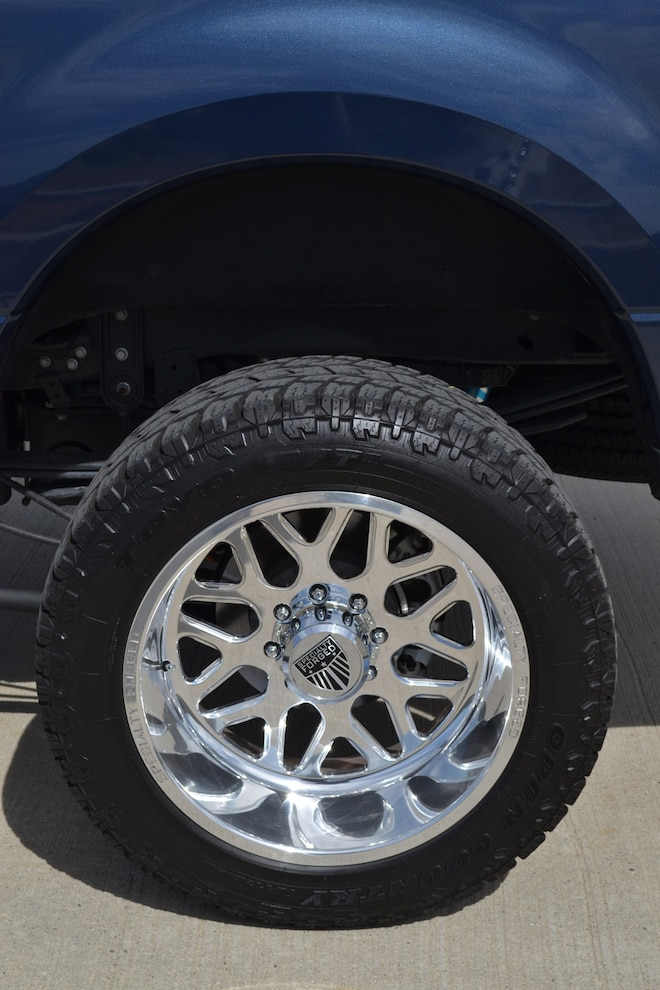 012 Blue Oval Bandit Wheels