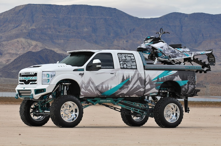 2016 Ford F-350 Superduty- The Mad Hatter